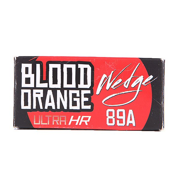 Амортизаторы для скейтборда Blood Orange Bushing Wedge Red Set 89a от Proskater