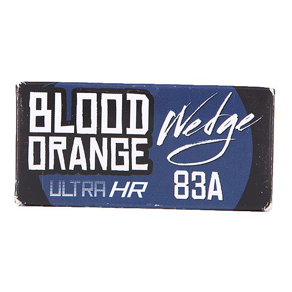 Амортизаторы для скейтборда Blood Orange Bushing Wedge Blue Set 83a от Proskater