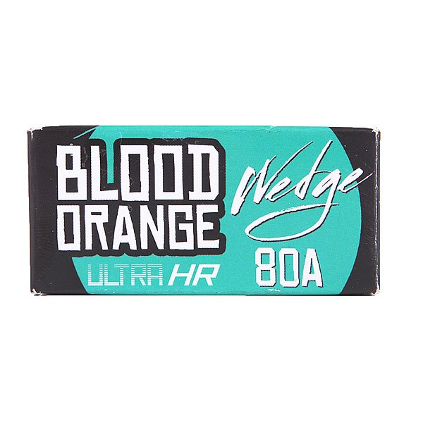 Амортизаторы для скейтборда Blood Orange Bushing Wedge Aqua Set 80a от Proskater