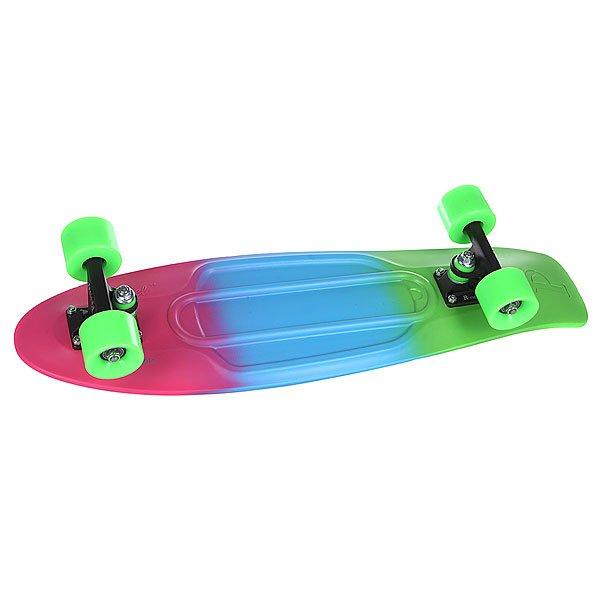 Скейт мини круизер Penny Nickel Ltd Fluoro Fade 27 (68.6 cм) скейт мини круизер penny original 22 ltd shadow jungle 6 x 22 55 9 см