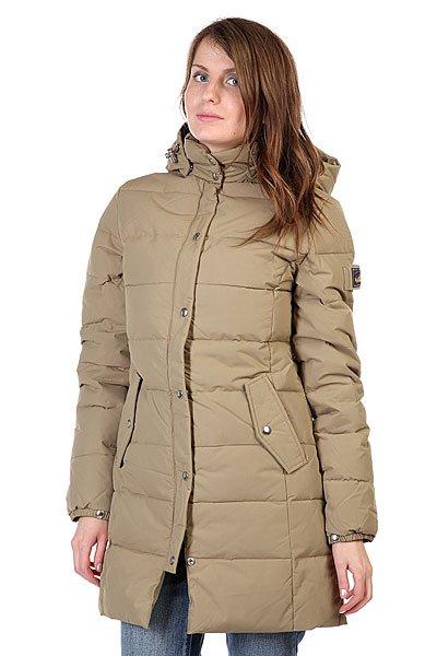 Пальто женское Penfield Millis Thigh Lgth Hooded Down Jkt Khaki