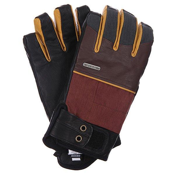 Перчатки сноубордические Pow Tanto Glove Rust перчатки сноубордические dakine scout glove rasta