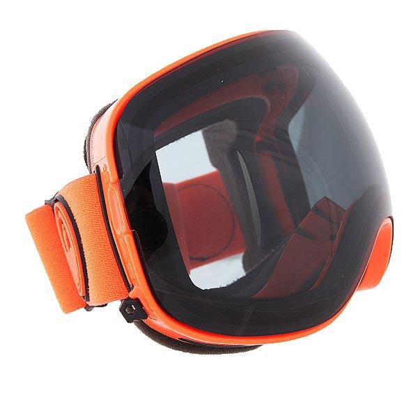 Маска для сноуборда Dragon X2 Orange/Dark Smoke + Yellow Blue Ionized