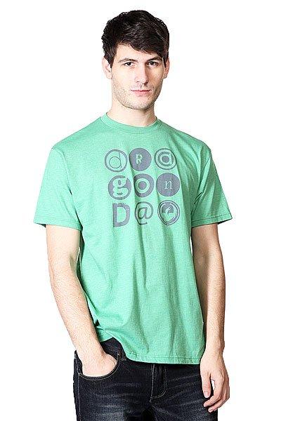 Футболка Dragon Typeface Kelly Heather<br><br>Цвет: зеленый<br>Тип: Футболка<br>Возраст: Взрослый<br>Пол: Мужской