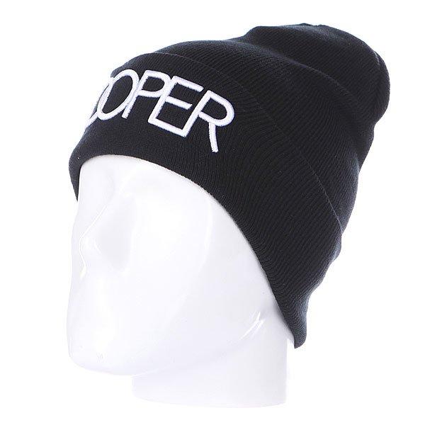 Шапка TrueSpin Doper Beanies Black<br><br>Цвет: черный<br>Тип: Шапка<br>Возраст: Взрослый<br>Пол: Мужской