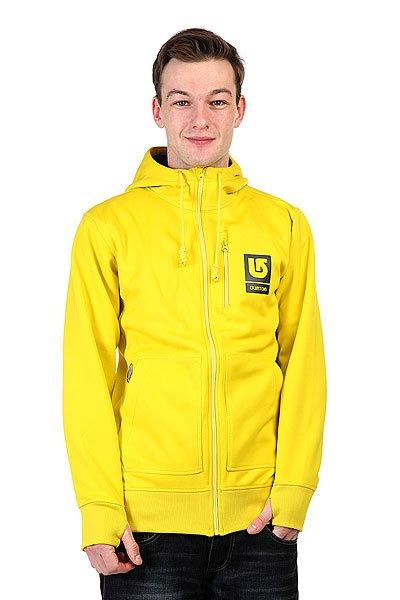 Толстовка сноубордическая Burton Mb Bonded Hdd Empire Yellow<br><br>Цвет: желтый<br>Тип: Толстовка сноубордическая<br>Возраст: Взрослый<br>Пол: Мужской