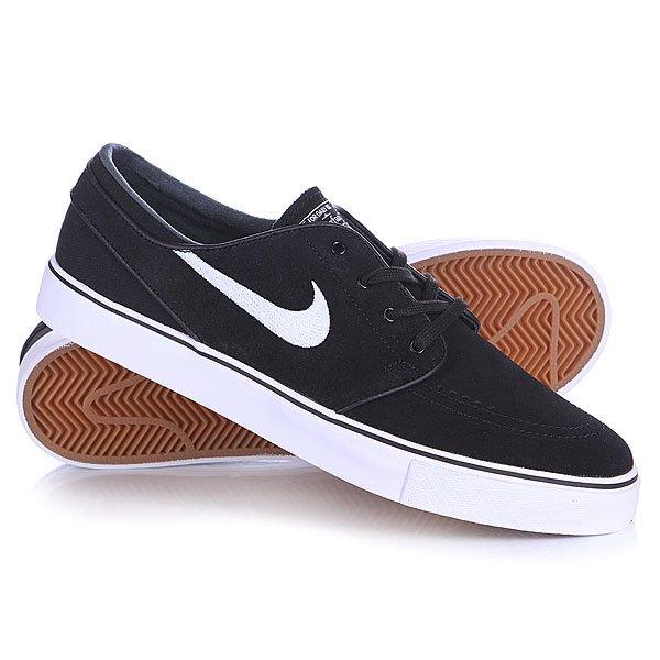 Кеды кроссовки низкие Nike Zoom Stefan Janoski Black/White