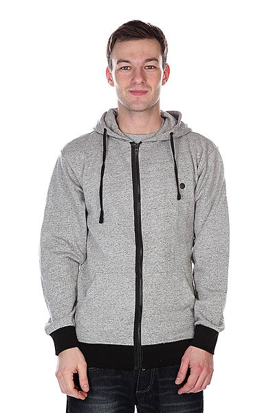 Толстовка Fallen Sanction Zip Hood Speckle Grey