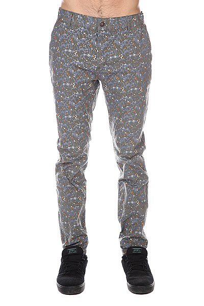Штаны прямые Altamont Parse Chino Pant Camo цены онлайн