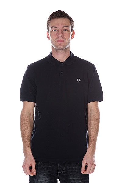 Поло Fred Perry Plain Shirt Blue поло детское fred perry my first fred perry shirt black