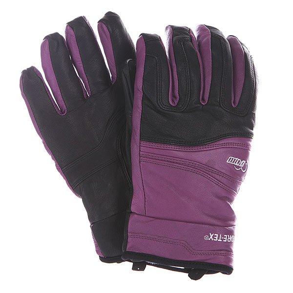 Перчатки сноубордические женские Pow Stealth Gtx Glove Purple