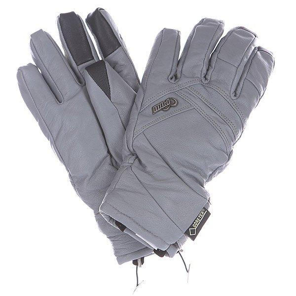 Перчатки сноубордические женские Pow Stealth Tt Gtx Glove Grey