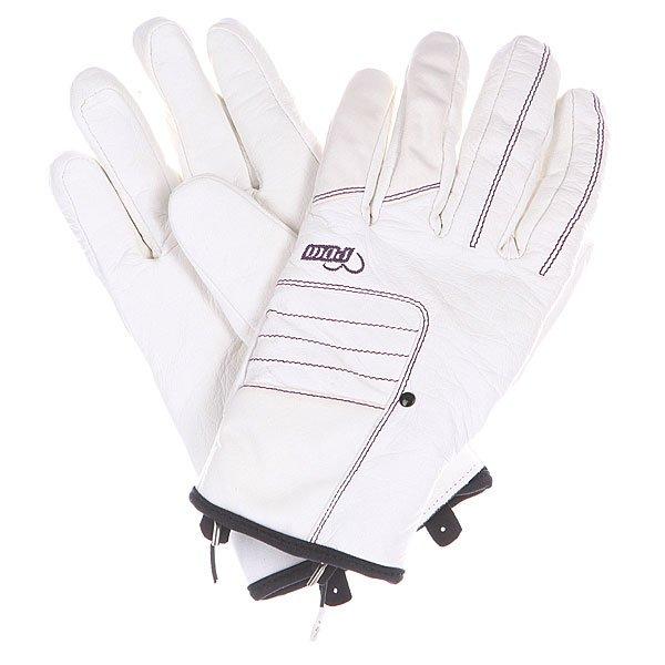 Перчатки сноубордические женские Pow Chase Glove White<br><br>Цвет: белый<br>Тип: Перчатки сноубордические<br>Возраст: Взрослый<br>Пол: Женский