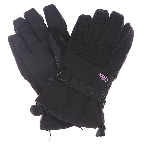 Перчатки сноубордические женские Pow Warner Glove Black<br><br>Цвет: черный<br>Тип: Перчатки сноубордические<br>Возраст: Взрослый<br>Пол: Женский