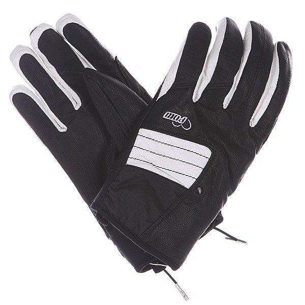 Перчатки сноубордические женские Pow Chase Glove Black<br><br>Цвет: черный,белый<br>Тип: Перчатки сноубордические<br>Возраст: Взрослый<br>Пол: Женский