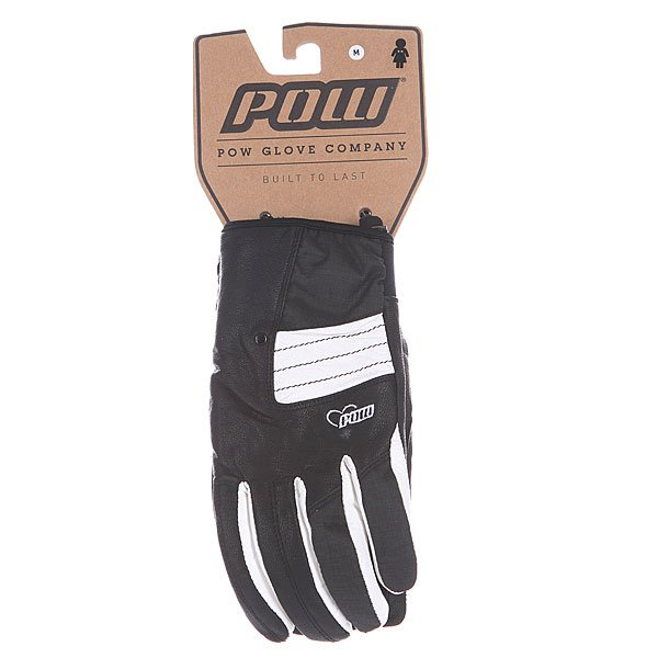 Перчатки сноубордические женские Pow Chase Glove Black