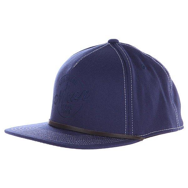 Купить Бейсболки   Бейсболка Nixon Native Snap Hat Faded Navy