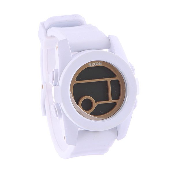 Часы женские Nixon Unit 40 All White/Gold