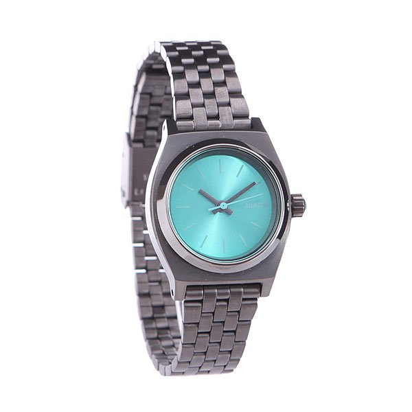 Часы женские Nixon Small Time Teller Light Blue