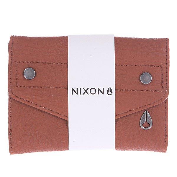 Кошелек женский Nixon Penny Small Wallet Honey Brown от Proskater