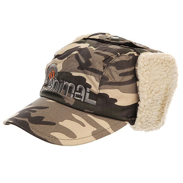 ����� � ��������� ������� Animal Infant Ronnie Ear Khaki/Camo
