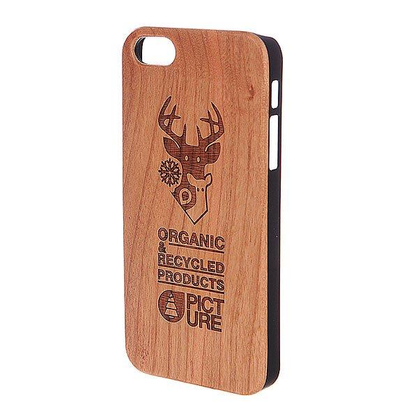 Чехол для iPhone 5 Picture Organic Case Wood BrownВыбирайте лучшее качество в сочетании с материалами лучшего качества с брендом Picture Organic, и пускай даже ваш чехол для телефона не будет исключением.Характеристики:Для iPhone 5.Изготовлен из пластика с имитацией под дерево.<br><br>Цвет: коричневый<br>Тип: Чехол для iPhone<br>Возраст: Взрослый<br>Пол: Мужской
