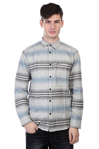Рубашка утепленная Quiksilver Skua Gravel<br><br>Цвет: серый<br>Тип: Рубашка утепленная<br>Возраст: Взрослый<br>Пол: Мужской