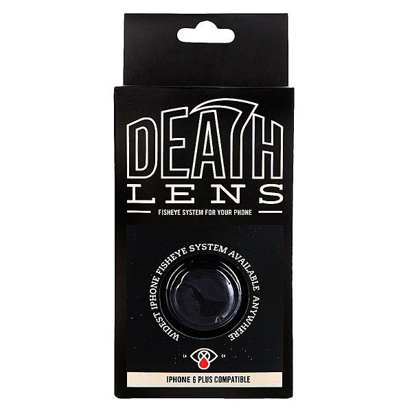 Чехол для iPhone Death Lens Iphone 6 Plus Fisheye Lens Box Black