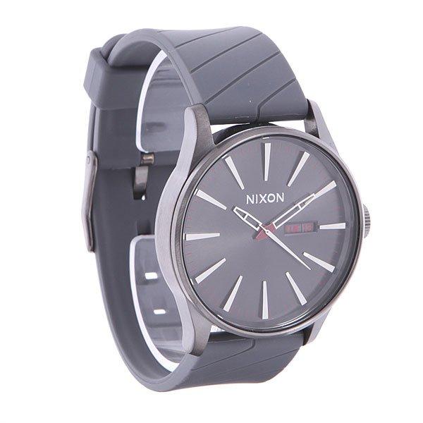 Часы Nixon Sentry Gunmetal Straight Line nixon часы nixon a450 502 коллекция sentry