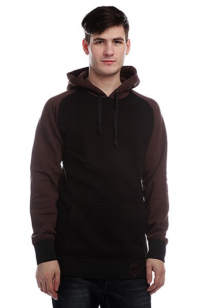 Кенгуру Shweyka Minimal Brown/Black<br><br>Цвет: черный,коричневый<br>Тип: Толстовка кенгуру<br>Возраст: Взрослый<br>Пол: Мужской