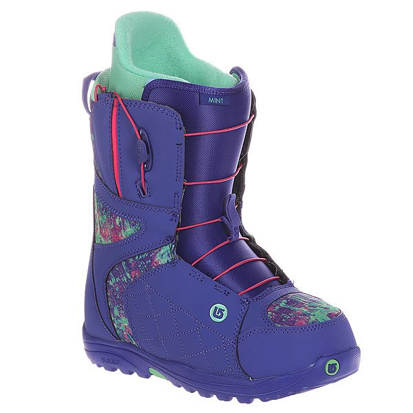 Ботинки для сноуборда женские Burton Mint Purple Print