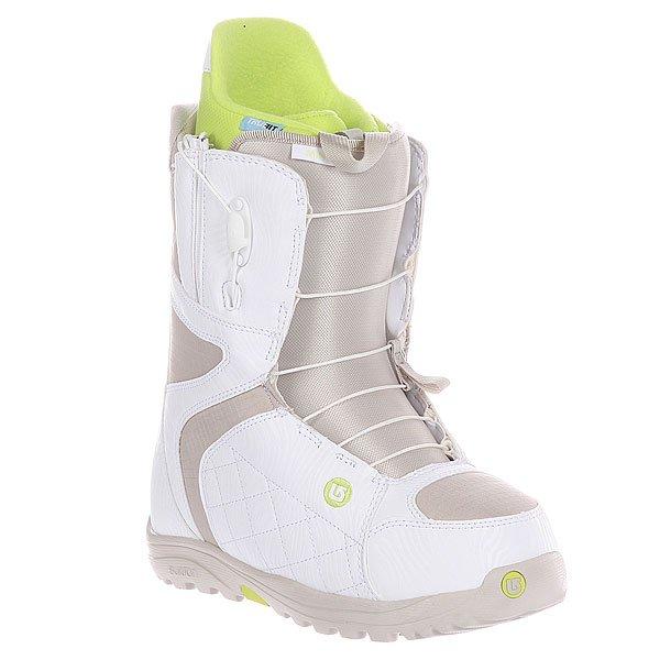 Ботинки для сноуборда женские Burton Mint White/Tan