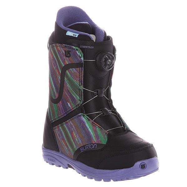 Ботинки для сноуборда женские Burton Starstruck Boa Black/Multi