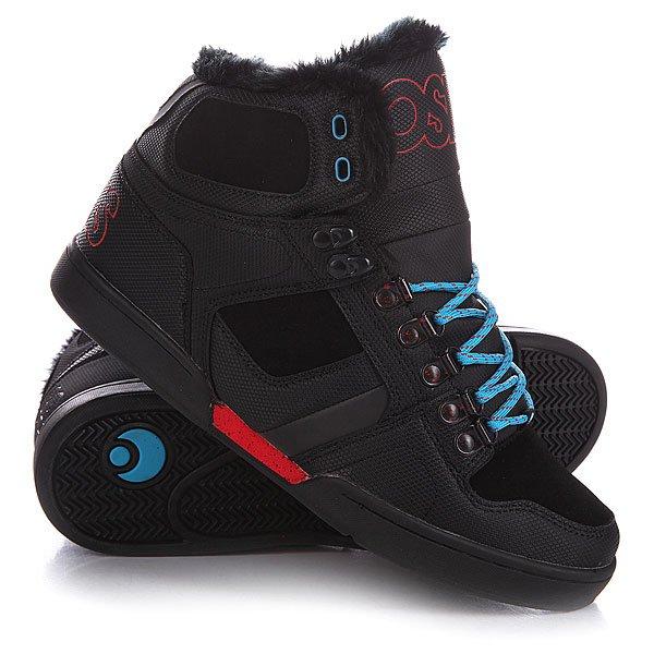 ���� ��������� ���������� Osiris Nyc Shr Black/Red/Blue