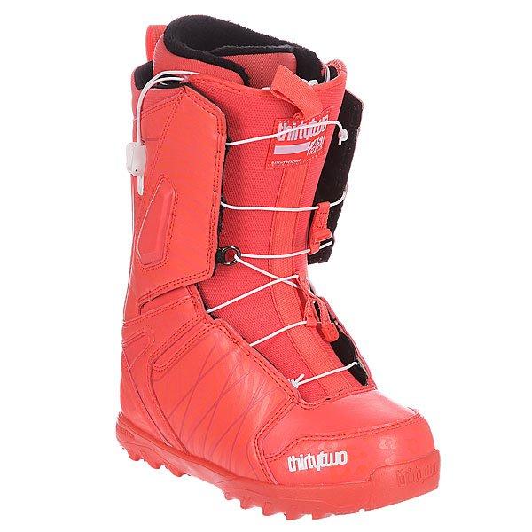 Ботинки для сноуборда женские Thirty Two Lashed Ft Ws Coral