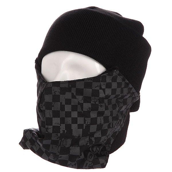 Маска Pro-Tec Face Mask Grey Checker<br><br>Цвет: черный,серый<br>Тип: Маска<br>Возраст: Взрослый<br>Пол: Мужской