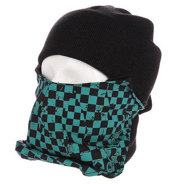 Маска Pro-Tec Face Mask Pop Checker<br><br>Цвет: черный,зеленый<br>Тип: Маска<br>Возраст: Взрослый