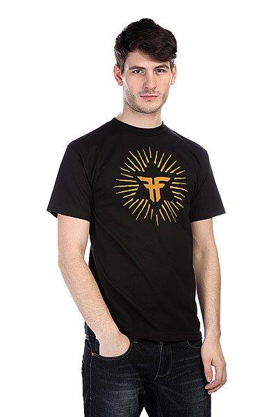 Футболка Fallen Rasta Vibes Black/Gold<br><br>Цвет: черный,желтый<br>Тип: Футболка<br>Возраст: Взрослый<br>Пол: Мужской