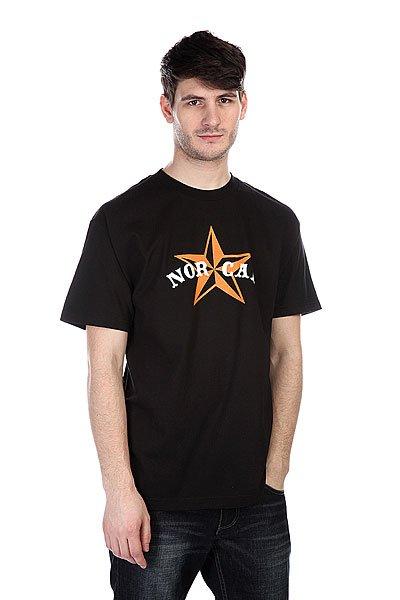Футболка Nor Cal Nautical 2 Black/Orange<br><br>Цвет: черный<br>Тип: Футболка<br>Возраст: Взрослый<br>Пол: Мужской