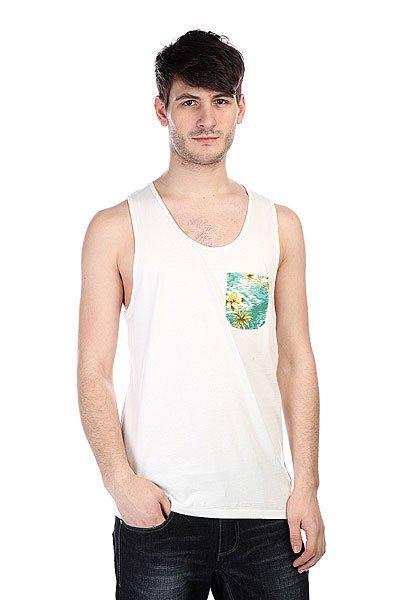 Майка Globe Tropical Singlet White<br><br>Цвет: белый<br>Тип: Майка<br>Возраст: Взрослый<br>Пол: Мужской
