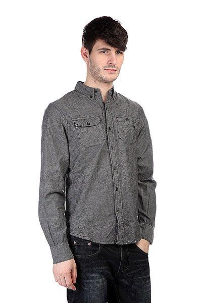 Рубашка Zoo York Dwyer Black<br><br>Цвет: серый<br>Тип: Рубашка<br>Возраст: Взрослый<br>Пол: Мужской