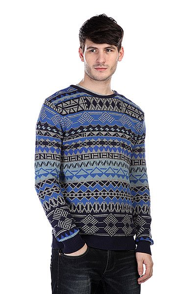 Свитер Globe RoSS Sweater Blue