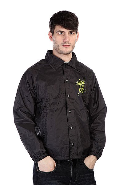 Ветровка Creature Ride Til You Die Coach Windbreaker Black