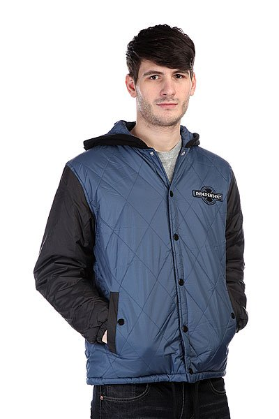 ������ Independent League Jacket Navy Black