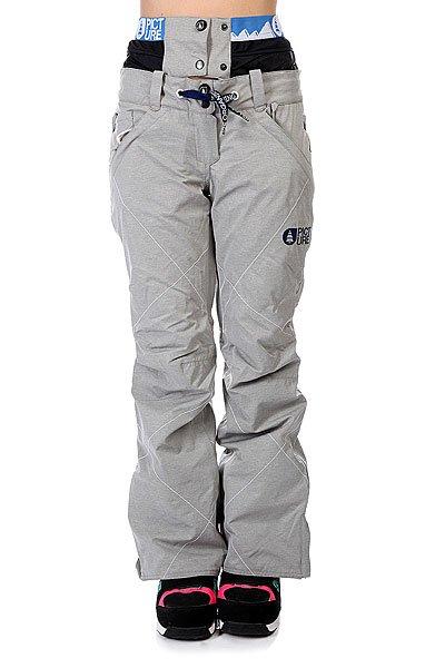 Штаны сноубордические женские Picture Organic Fever Grey