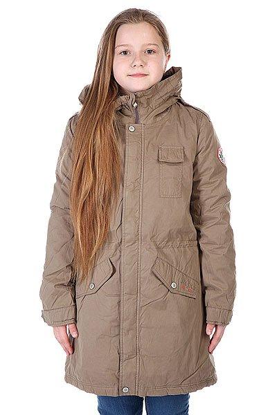 Пальто детское Roxy West Farms Walnut