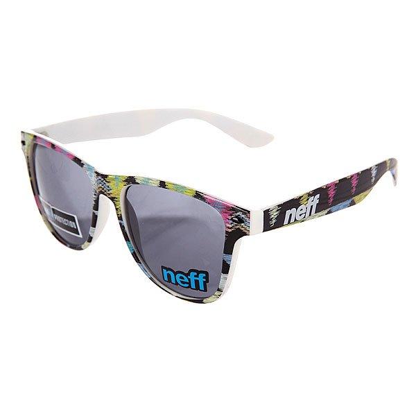 Очки Neff Daily Shades PnktКонтрастные, стильные и просто неповторимые очки на каждый день. Все для Вашего стиля!Технические характеристики: Материал оправы - пластик.Акриловые линзы.100% защита от ультрафиолетовых лучей.<br><br>Цвет: мультиколор<br>Тип: Очки<br>Возраст: Взрослый<br>Пол: Мужской