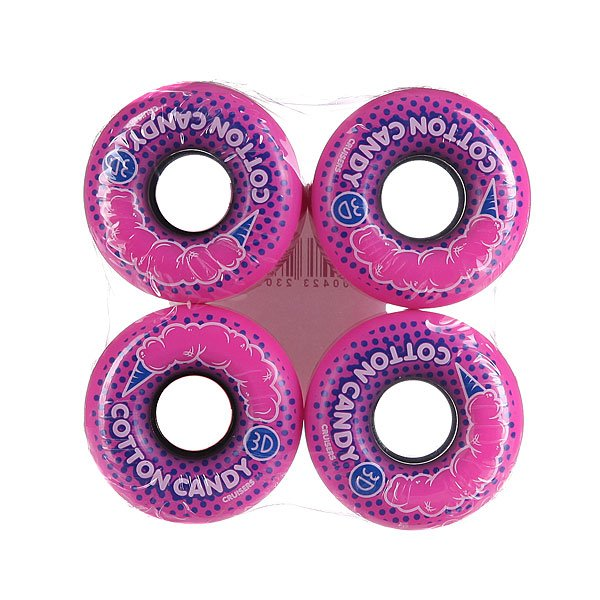 Колеса для скейтборда 3D Cotton Candy Cruisers 56mm 98A