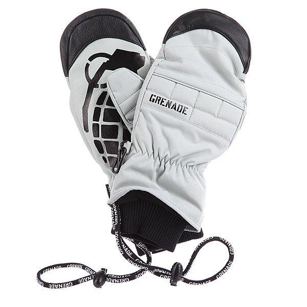 Варежки сноубордические Grenade Exploiter Mitt Gray