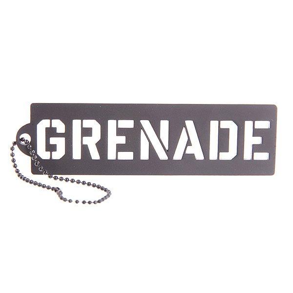 Брелок Grenade Key Chain Stencil Black